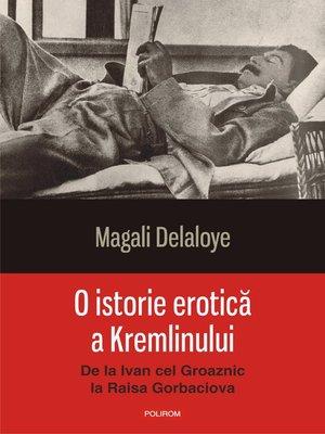 cover image of O istorie erotică a Kremlinului