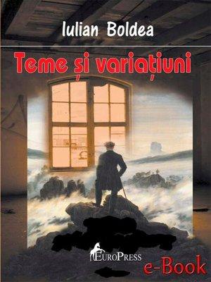 cover image of Teme și variațiuni