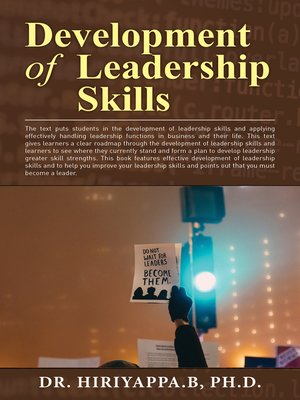 cover image of Development of Leadership Skills