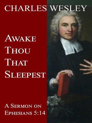 cover image of Awake Thou That Sleepest