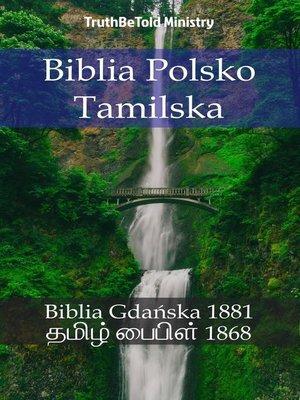 cover image of Biblia Polsko Tamilska