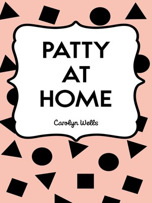 cover image of Patty at Home