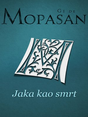 cover image of Jaka kao smrt