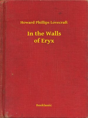 cover image of In the Walls of Eryx