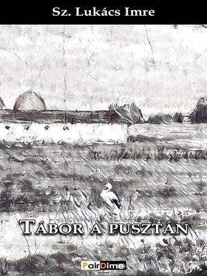 cover image of Tábor a pusztán
