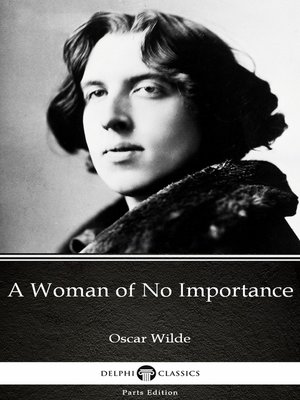 cover image of A Woman of No Importance by Oscar Wilde