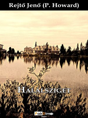 cover image of Halálsziget