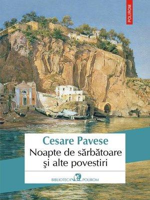 cover image of Noapte de sărbătoare și alte povestiri