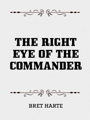 cover image of The Right Eye of the Commander