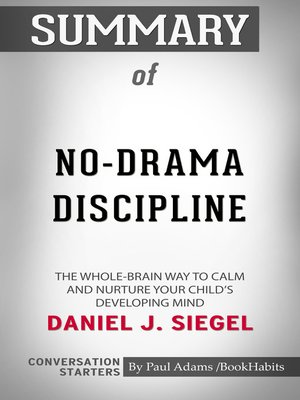 cover image of Summary of No-Drama Discipline
