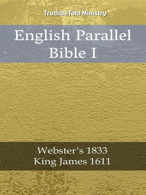 cover image of English Parallel Bible I