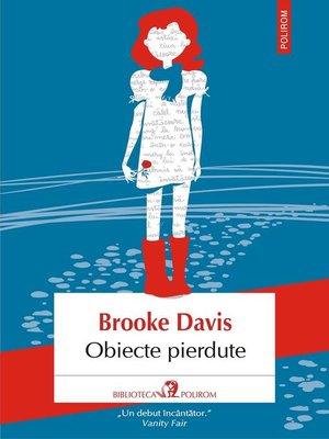 cover image of Obiecte pierdute