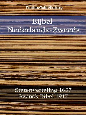 cover image of Bijbel Nederlands-Zweeds