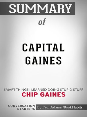 cover image of Summary of Capital Gaines