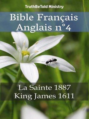 cover image of Bible Français Anglais n°4