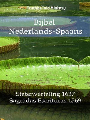 cover image of Bijbel Nederlands-Spaans