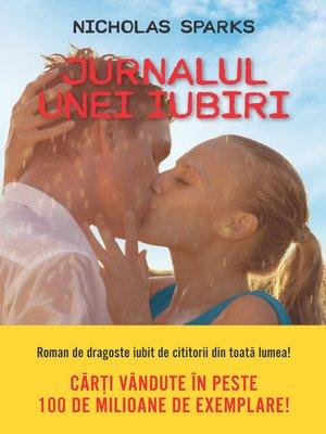 cover image of Jurnalul unei iubiri