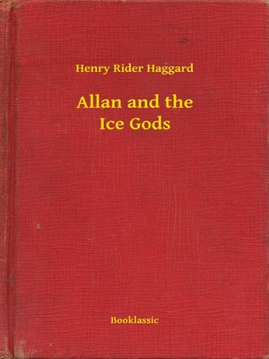 cover image of Allan and the Ice Gods
