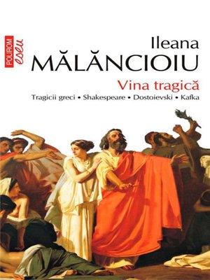 cover image of Vina tragică