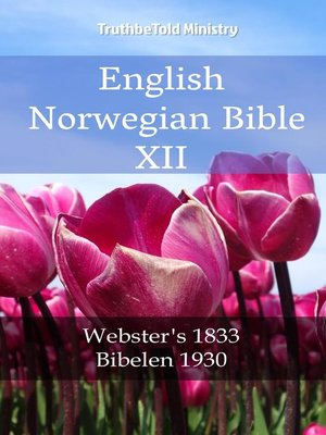 cover image of English Norwegian Bible XII