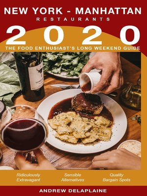 cover image of 2020 New York / Manhattan Restaurants