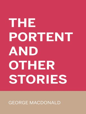 cover image of The Portent and Other Stories