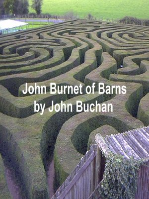cover image of John Burnet of Barns