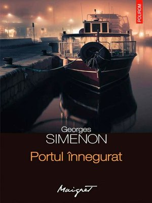 cover image of Portul înnegurat