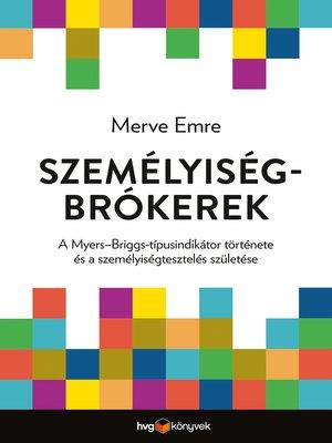 cover image of Személyiségbrókerek