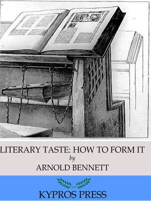 cover image of Literary Taste: How to Form It