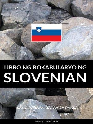 cover image of Libro ng Bokabularyo ng Slovenian