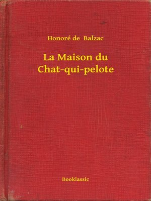 cover image of La Maison du Chat-qui-pelote