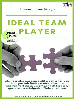 cover image of Ideal Teamplayer