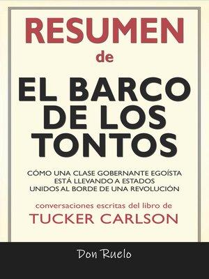 cover image of Resumen de El Barco de Los Tontos
