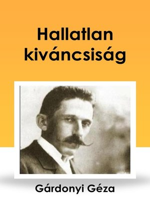 cover image of Hallatlan kiváncsiság