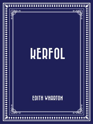 cover image of Kerfol