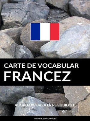 cover image of Carte de Vocabular Francez