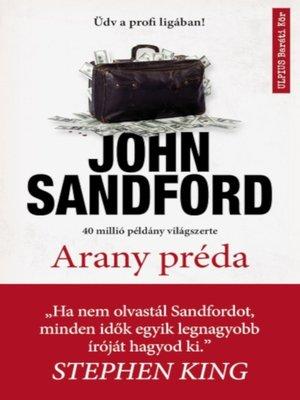 cover image of Arany préda