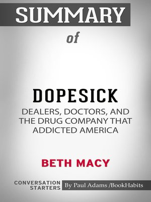 cover image of Summary of Dopesick