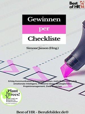 cover image of Gewinnen per Checkliste