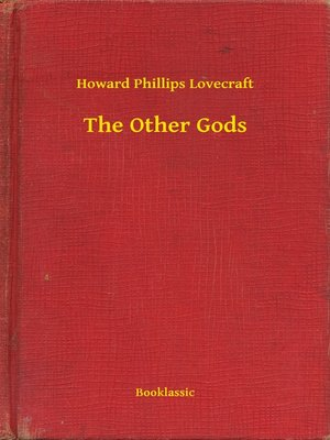 cover image of The Other Gods