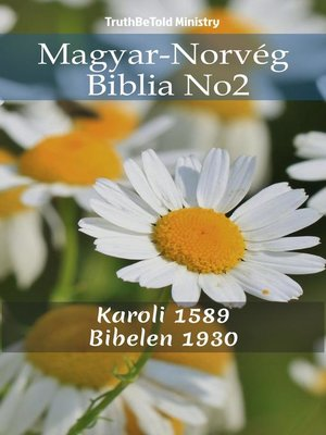 cover image of Magyar-Norvég Biblia No2