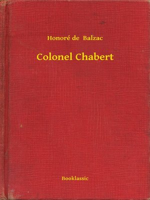 cover image of Colonel Chabert