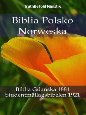 cover image of Biblia Polsko Norweska