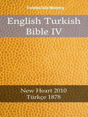 cover image of English Turkish Bible IV