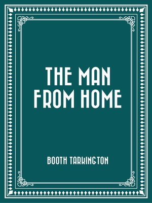 cover image of The Man from Home