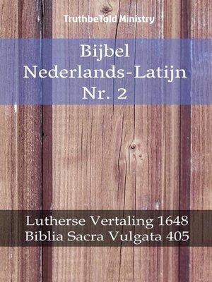 cover image of Bijbel Nederlands-Latijn Nr. 2