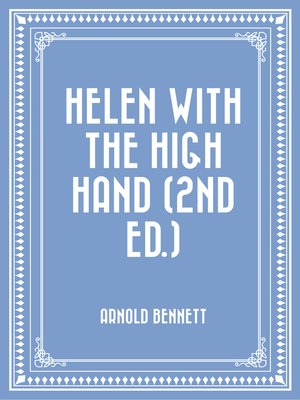 cover image of Helen with the High Hand (2nd ed.)