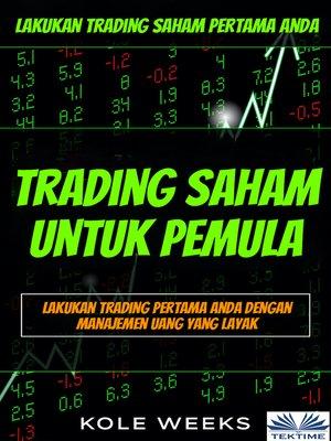 cover image of Trading Saham Untuk Pemula