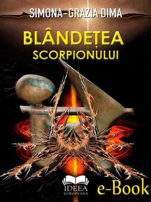 cover image of Blândețea scorpionului